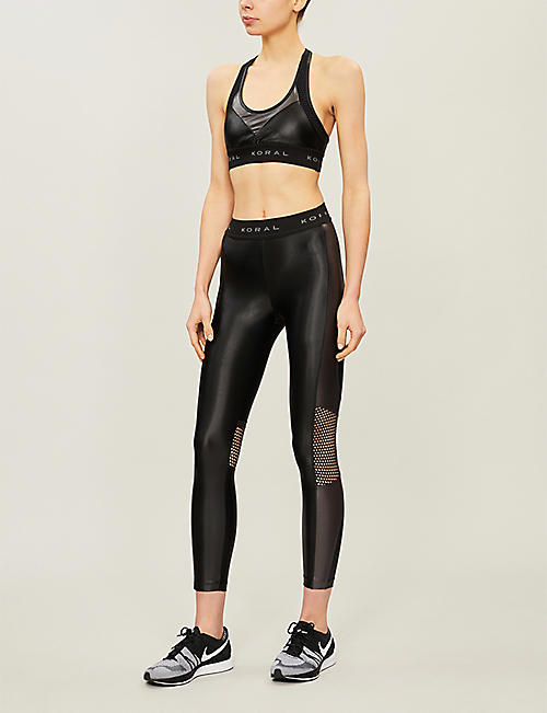 863b52780617f KORAL Infinity stretch-jersey leggings