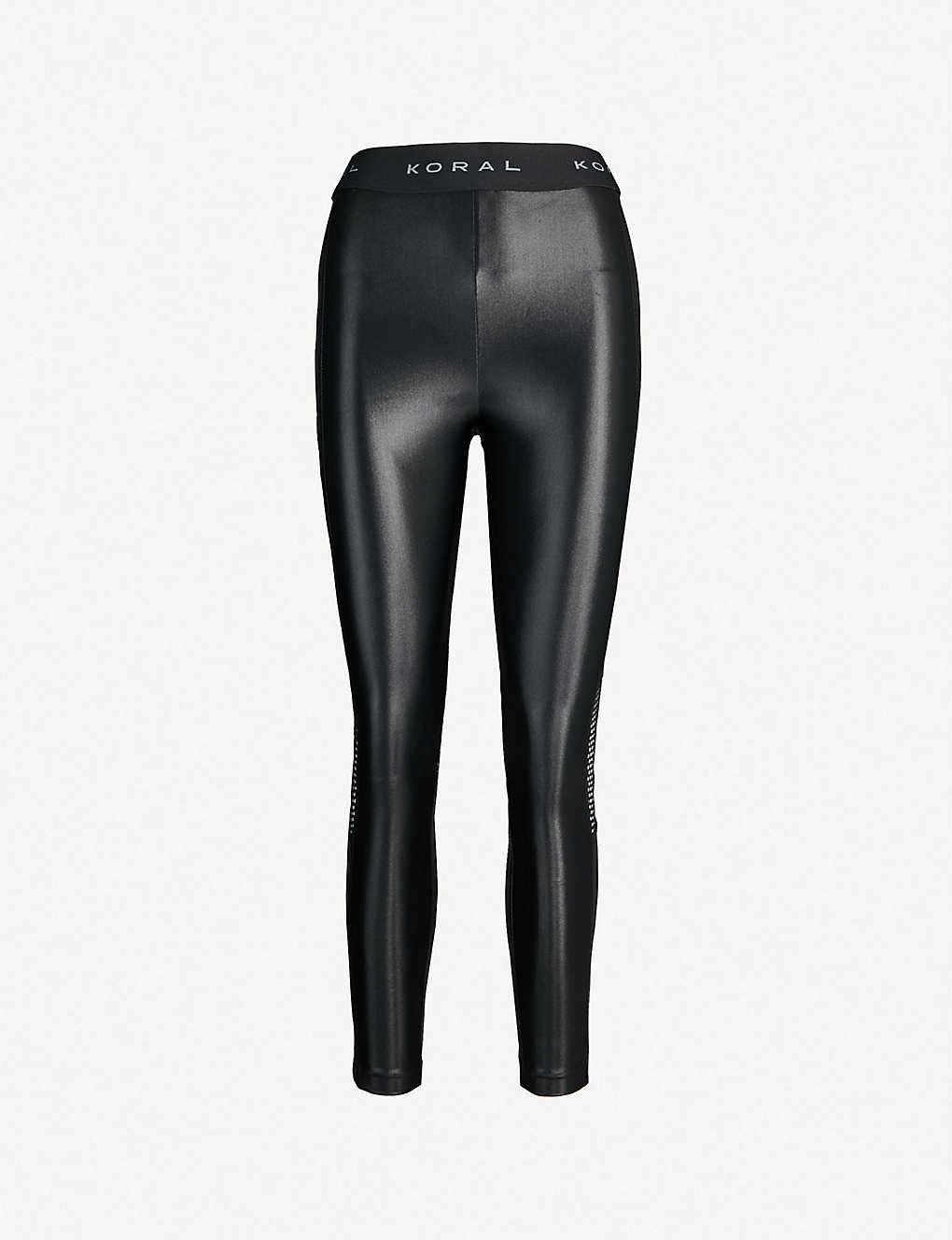 b1c9817d6fc18 KORAL - Infinity stretch-jersey leggings | Selfridges.com