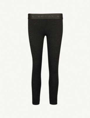 KORAL Galaxy Knockout stretch-jersey leggings