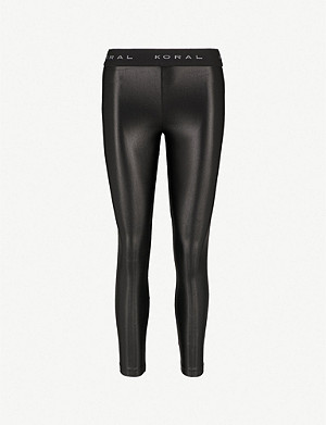KORAL Aden stretch-jersey leggings
