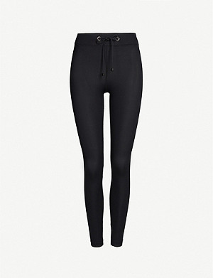 KORAL Duke ribbed stretch-jersey leggings