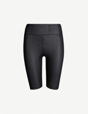 KORAL Densonic textured stretch-jersey cyclist shorts