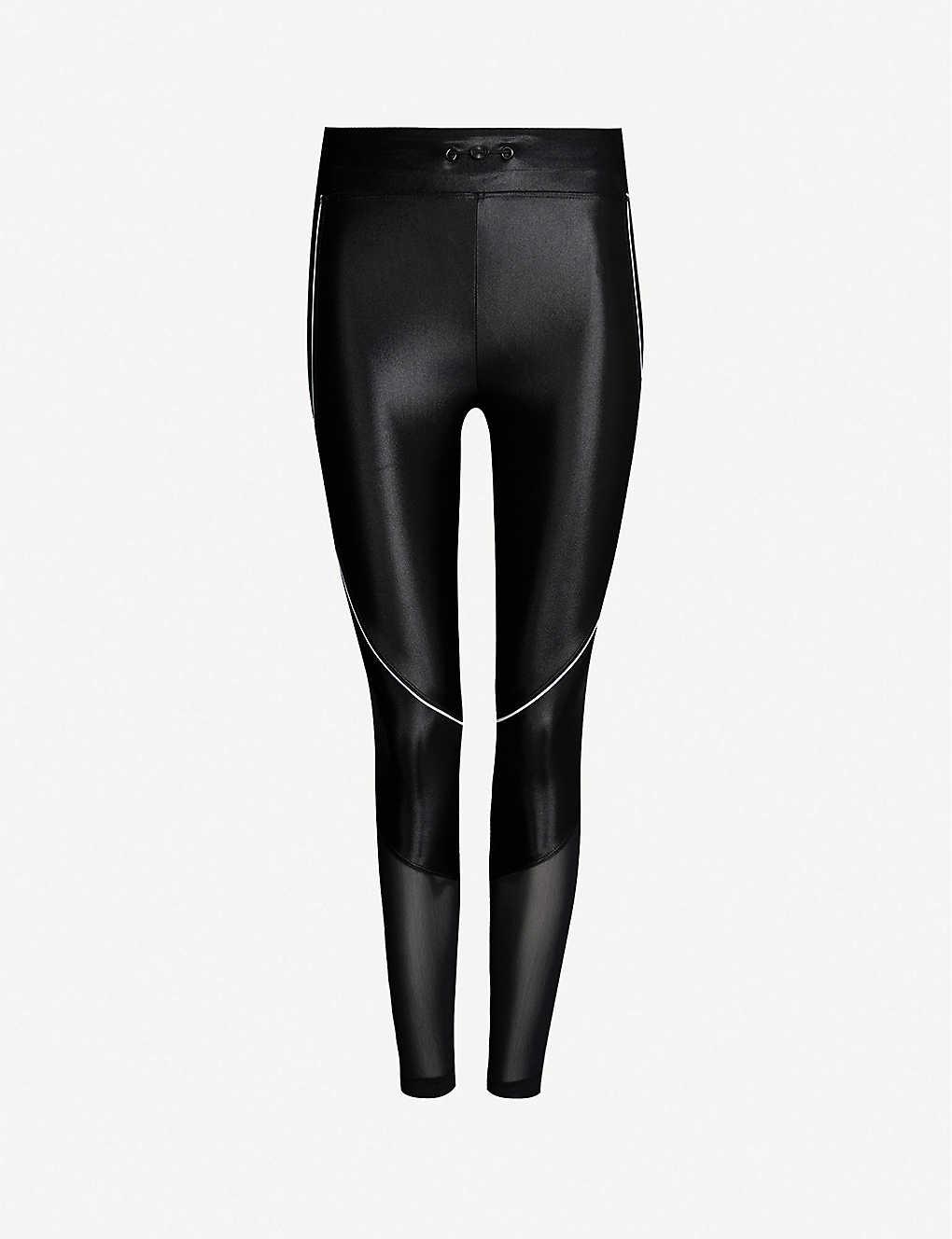 520dd694d102b KORAL - Focus mesh-panel stretch-jersey leggings | Selfridges.com