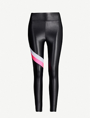 KORAL Stage Infinity colour-block stretch-jersey leggings