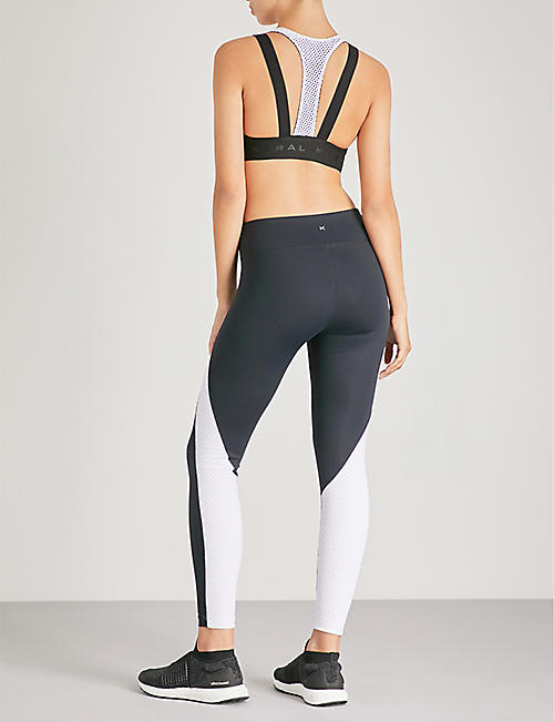 KORAL Forte satin sports bra
