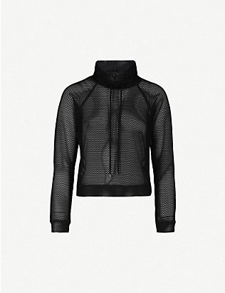 KORAL: Pump mesh jumper
