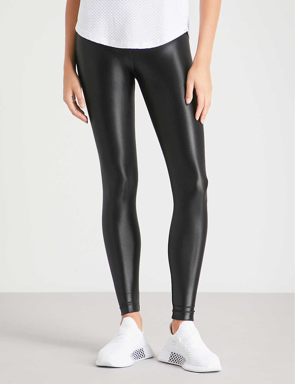 KORAL: Lustrous high-shine leggings