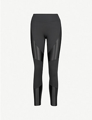 KORAL: Forge panelled leggings