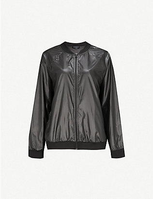 KORAL: Dash shell bomber jacket