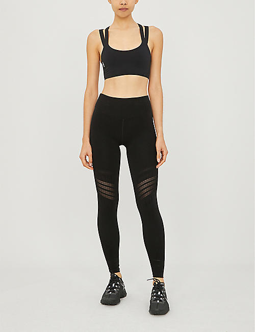 FP MOVEMENT On The Radar stretch-jersey sports bra