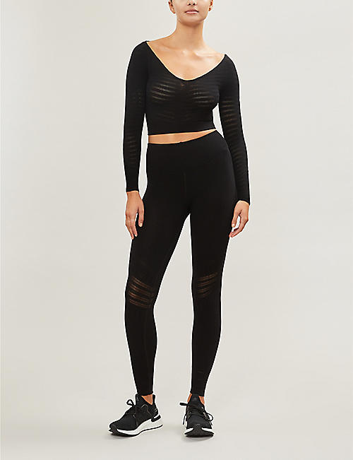 FP MOVEMENT Gone Adrift stretch-knit crop top