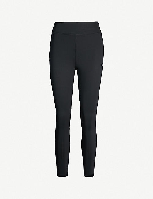 242e5883450b CALVIN KLEIN Contrast piping stretch-jersey leggings
