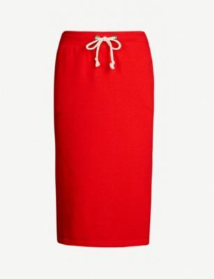 Champion Skirts PATCH COTTON-BLEND MIDI SKIRT