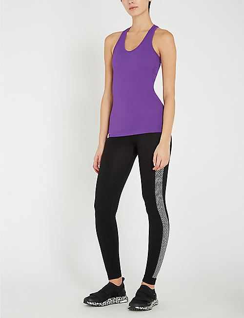 MONREAL LONDON Seamless stretch-jersey top
