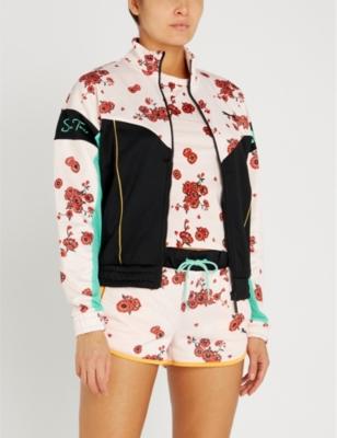 6276a0a83 PUMA - PUMA x Sue Tsai floral-print shell track jacket   Selfridges.com