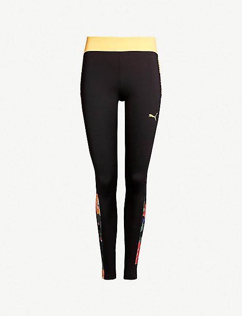 cf466c723 PUMA PUMA x Sue Tsai floral-print stretch-jersey leggings