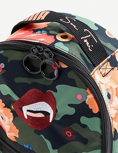 515d7570ad5 PUMA PUMA x Sue Tsai floral-print shell backpack