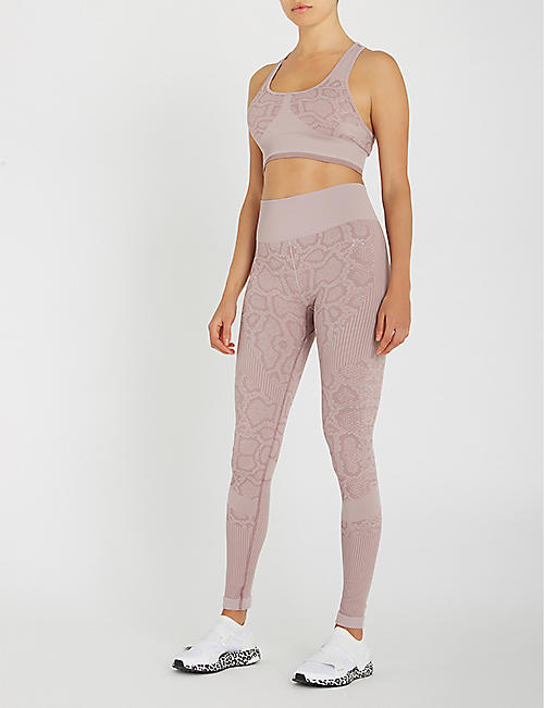 VARLEY Quincy seamless stretch-jersey leggings