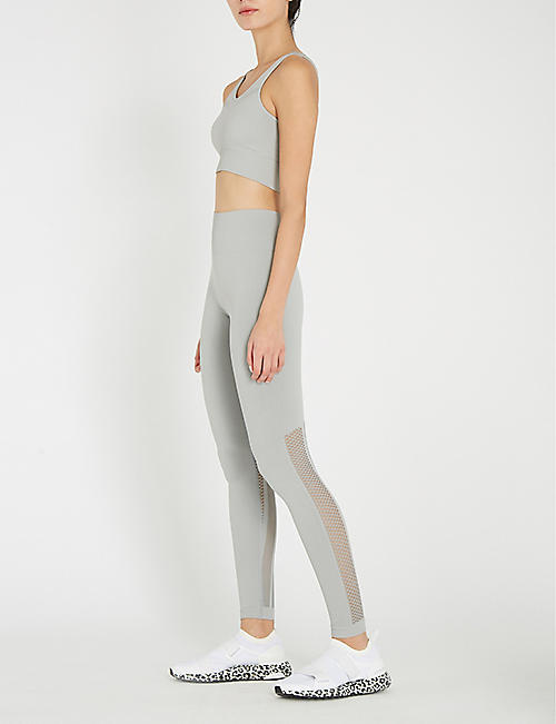 VARLEY Cardiff cropped mid-rise jersey leggings