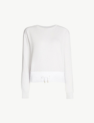 VARLEY Arden cotton-blend sweatshirt
