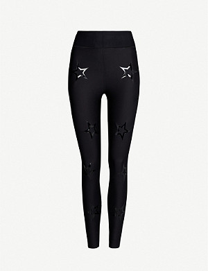 ULTRACOR Dropout star-print high-rise stretch-jersey leggings