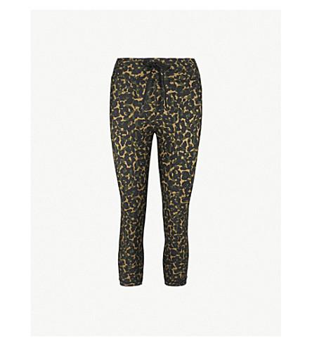 0ebcb4e53f10a THE UPSIDE NYC leopard camo-print stretch-jersey leggings (Leopard+camo