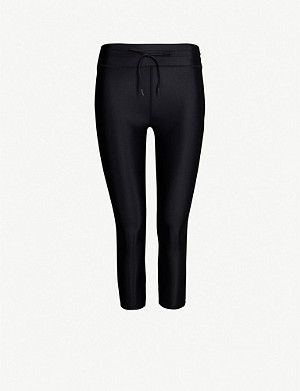 THE UPSIDE NYC cropped stretch-jersey leggings