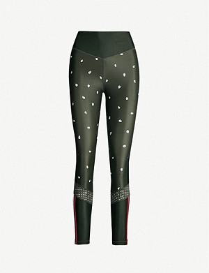 THE UPSIDE Skulls Dance-printed high-waisted leggings