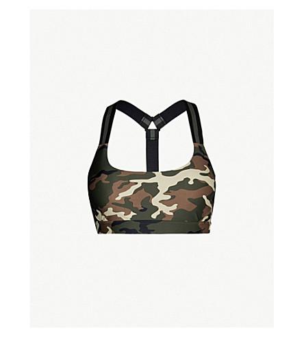 493f631104 THE UPSIDE Alex camouflage stretch-jersey sports bra (Camo