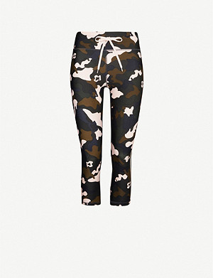 THE UPSIDE NYC forest camo-print stretch-jersey leggings