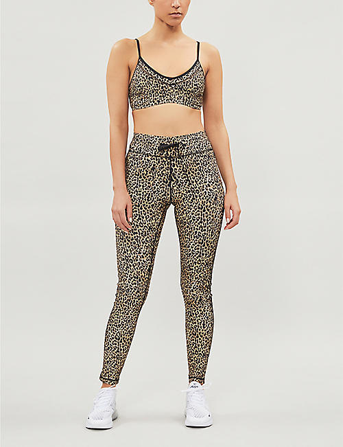 THE UPSIDE Leo stretch-jersey leggings