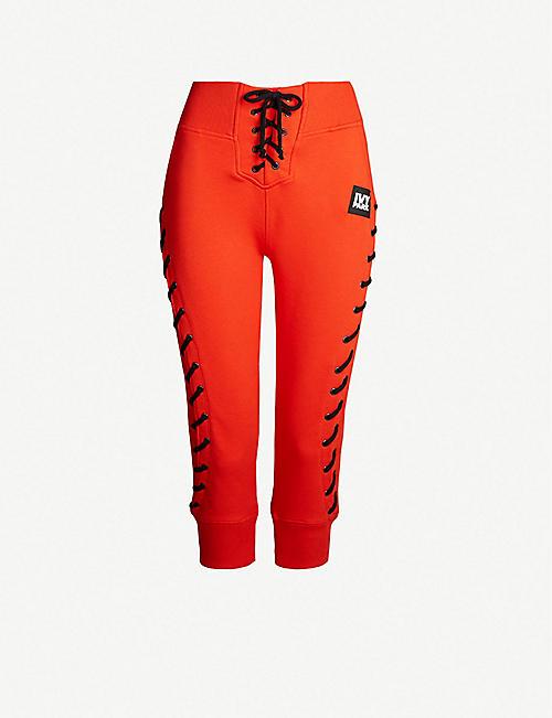 d92ac655df4d4 IVY PARK Craft jersey jogging bottoms