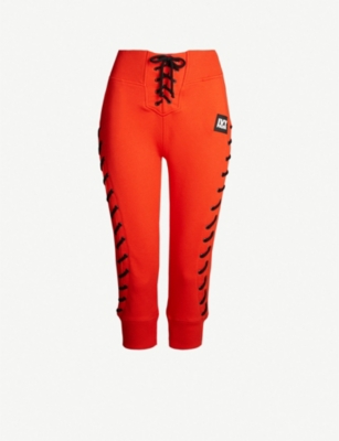 IVY PARK Craft jersey jogging bottoms