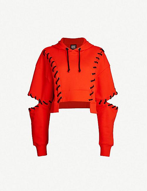 aeb24ee0064 IVY PARK Craft jersey hoody