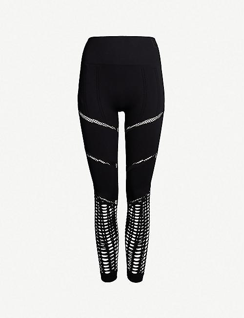 577c854a4c258 IVY PARK Seamless 7 8 stretch-knit leggings
