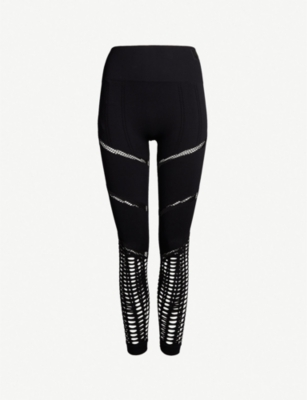 IVY PARK Seamless 7/8 stretch-knit leggings