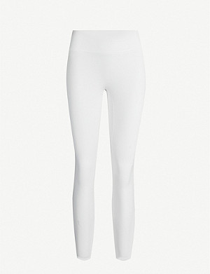 REEBOK X VICTORIA BECKHAM Classic slim-fit high-rise stretch-jersey leggings