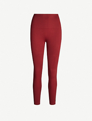 REEBOK X VICTORIA BECKHAM High-rise stretch-jersey leggings