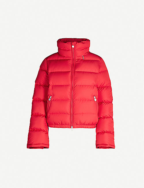 PERFECT MOMENT: Polar Flare shell-down jacket