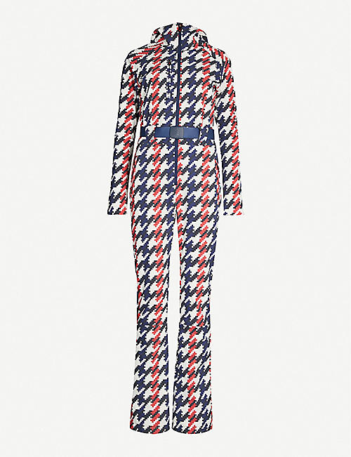 PERFECT MOMENT Star shell ski jumpsuit
