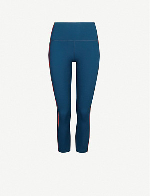 LNDR Lightyear cropped stretch-jersey leggings