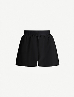LNDR Sprint mid-rise shell shorts