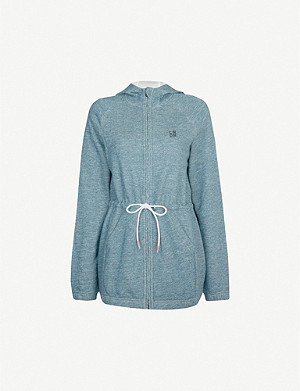 LNDR Astroid cotton-jersey drawstring hoody