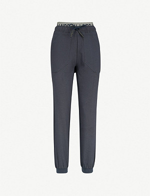 LNDR Circuit relaxed-fit stretch-jersey jogging bottoms
