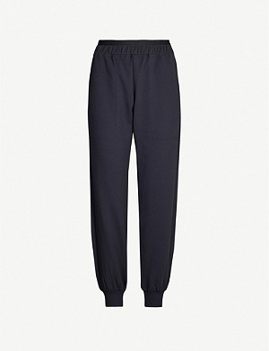 LNDR Saturn logo-embroidered stretch-jersey jogging bottoms
