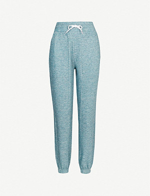 LNDR Astroid cotton-jersey jogging bottoms