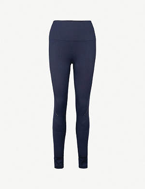 LNDR Blackout compression performance stretch-jersey leggings
