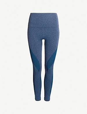 LNDR Launch high-rise panelled stretch-jersey leggings