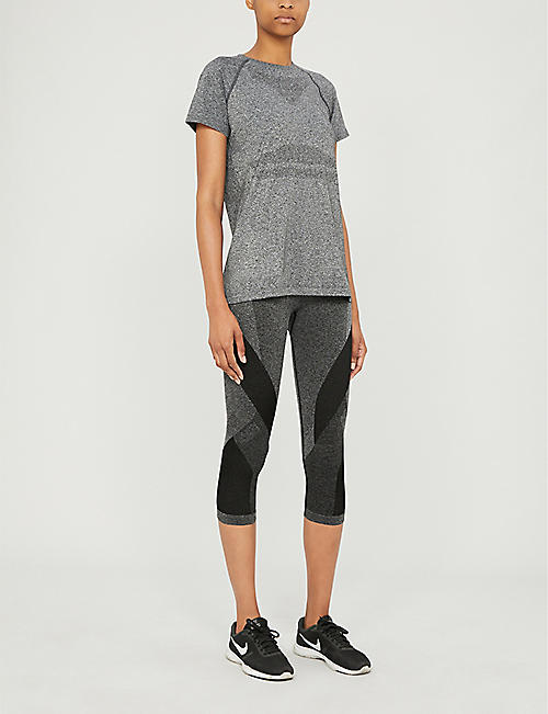 LNDR Launch stretch-knit cropped leggings