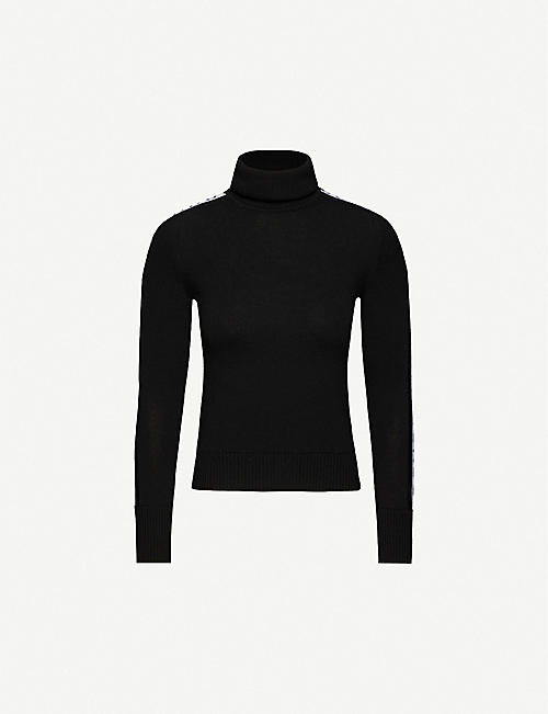 CORDOVA Turtleneck wool ski jumper